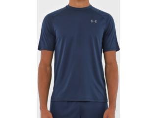 Camiseta Masculina Under Armour 1359378 Tech 2.0 Marinho - Tamanho Médio