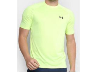 Camiseta Masculina Under Armour 1359378 Tech 2.0 Verde Neon - Tamanho Médio