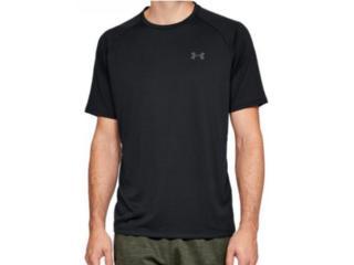 Camiseta Masculina Under Armour 1359378  Tech 2.0 Preto - Tamanho Médio