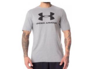 Camiseta Masculina Under Armour 1359394 Sportstyle Cinza - Tamanho Médio