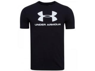Camiseta Masculina Under Armour 1359394 Sportsyle Preto - Tamanho Médio