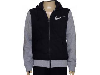 Casaco Masculino Nike 727757-011 Club Fleece Swoosh Plus  Preto/cinza - Tamanho Médio