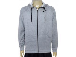 Casaco Masculino Nike  860465-063 m nk Dry Hoodie fz Fleece Cinza - Tamanho Médio