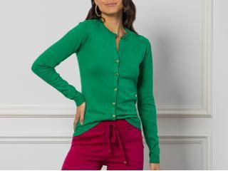 Casaquinho Feminino Katze 33372 Verde Bandeira - Tamanho Médio