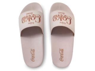 Chinelo Feminino Coca-cola Shoes Cc3158 Rose - Tamanho Médio