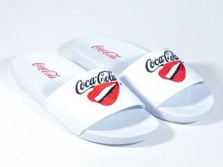 Chinelo Feminino Coca-cola Shoes Cc3162 Branco - Tamanho Médio