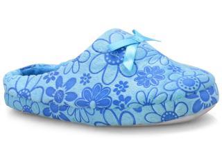 Chinelo Feminino Gasf 6137 Azul - Tamanho Médio