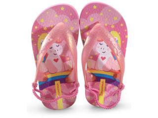 Chinelo Fem Infantil Grendene 25431 20541 Ipanema Baby Rosa Perola - Tamanho Médio