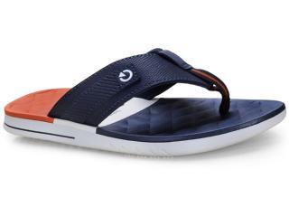 Chinelo Masculino Grendene 11333 24799 Cartago Sevilha iv Branco/azul/vermelho - Tamanho Médio
