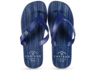 Chinelo Masculino Grendene 10738 21724 Cartago Dakar Azul - Tamanho Médio