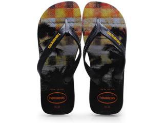 Chinelo Masculino Havaianas Surf Preto - Tamanho Médio