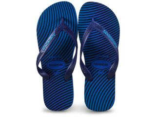 Chinelo Masculino Havaianas Aero Graphic Azul/marinho - Tamanho Médio