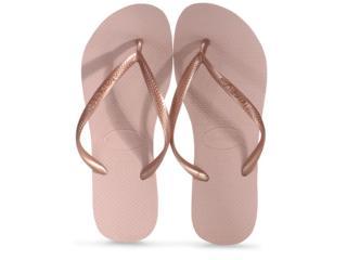 Chinelo Feminino Havaianas Slim Rosa Ballet - Tamanho Médio