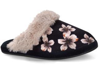 Chinelo Feminino Leffa 460 Floral Bege - Tamanho Médio