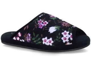 Chinelo Feminino Leffa 456 Floral Orquidea - Tamanho Médio