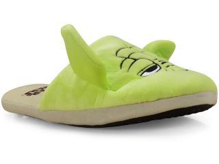 Chinelo Masc Infantil Ricsen 139034 3d Yoda Verde - Tamanho Médio