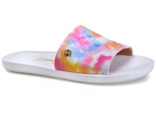 Chinelo Feminino Vizzano 6363105 Tie Dye Multi Color - Tamanho Médio