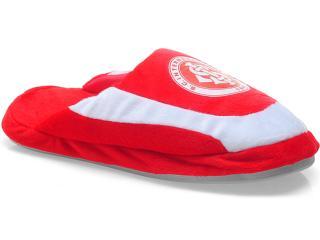 Chinelo Unisex Ferpa Inter 3073 Vermelho/branco - Tamanho Médio
