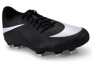 Chuteira Masculina Nike 844436-001 Bravata ii fg Preto/branco - Tamanho Médio