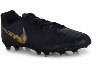 Chuteira Masculina Nike Ao2597-077 Legend 7 Club Preto/dourado - Tamanho Médio