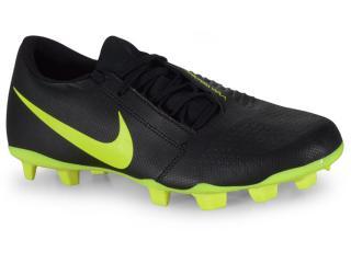 Chuteira Masculina Nike Ao0577-007 Phantom Venom Club Club Preto/limão - Tamanho Médio