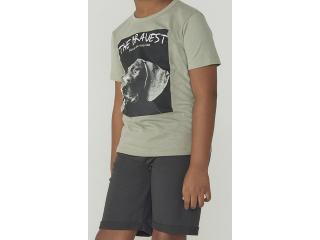 Conjunto Masculino Hering Kids 5aq2 2ren Verde/cinza - Tamanho Médio