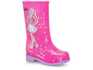 Galocha Fem Infantil Grendene 22560 50511 Barbie Fashion Rosa/lilas - Tamanho Médio