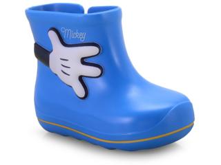 Galocha Masc Infantil Grendene 21987 01676 Disney Cute Azul Brilliant ff op - Tamanho Médio