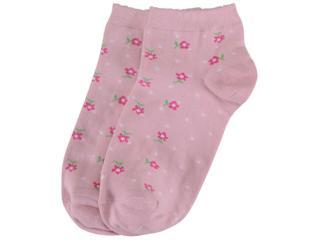 Meia Feminina Lupo 4535 224 5410 Rosa/pink - Tamanho Médio