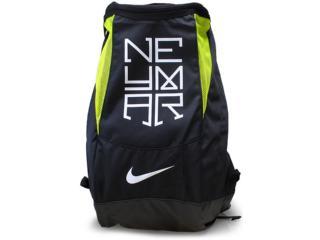 Mochila Unisex Nike Ba4954-071 Neymar Shield Compact  Preto/limão - Tamanho Médio