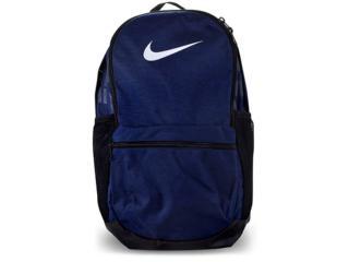 Mochila Masculina Nike Ba5329-410 Brasilia Backpack Marinho/grafite - Tamanho Médio