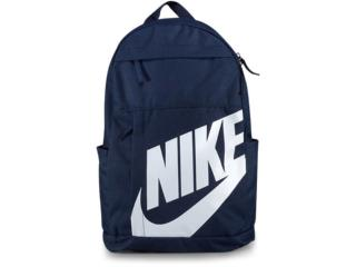 Mochila Unisex Nike Ba5876-451  Elmntl Bkpk Marinho/branco - Tamanho Médio