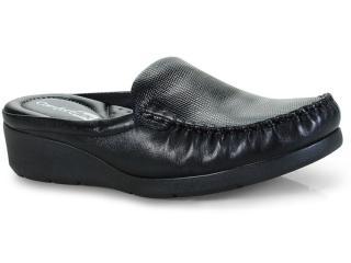 Mule Feminino Comfortflex 18-93301 Preto - Tamanho Médio