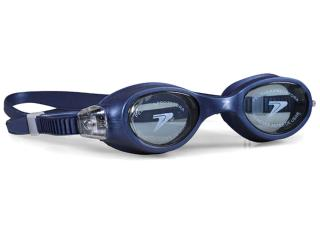 óculos Unisex Poker 13093 Bario Ultra  Marinho/fume - Tamanho Médio