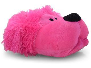 Pantufa Fem Infantil Europa 528 Poodle Pink - Tamanho Médio
