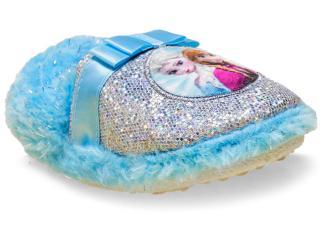 Pantufa Fem Infantil Ricsen Frozen 20186 Azul - Tamanho Médio