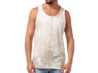 Regata Masculina Coca-cola Clothing 393200789 Off White/bege Estampado - Tamanho Médio