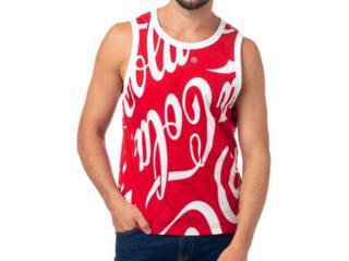 Regata Masculina Coca-cola Clothing 393200791 Vb106 Vermelho - Tamanho Médio
