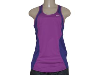 Regata Feminina Nike 645436-513 Racer Tank Violeta/roxo - Tamanho Médio