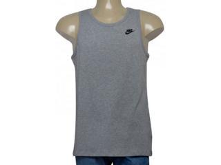Regata Masculina Nike 827282-063 Sportswear Tank Cinza - Tamanho Médio
