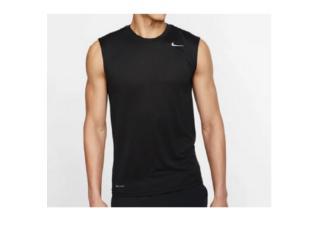 Regata Masculina Nike 718835-010 Dry Training Top Preto - Tamanho Médio