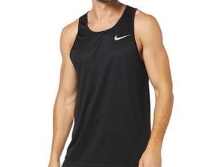 Regata Masculina Nike Aq4939-010 Breathe Preto - Tamanho Médio