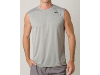 Regata Masculina Nike 718835-063 Dry Trainning Top Cinza - Tamanho Médio