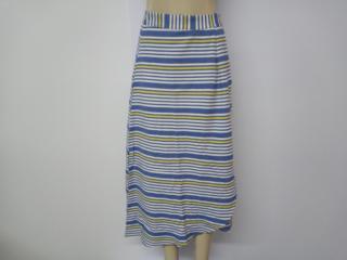 Saia Feminina Colcci 80103432 Vc549 Azul/amarelo Estampado - Tamanho Médio