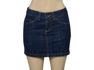 Saia Feminina Lei Básica Sa2454 Jeans - Tamanho Médio