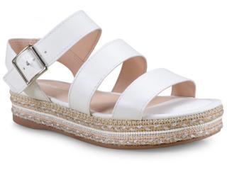 Sandália Feminina Dakota Z3774 Branco - Tamanho Médio