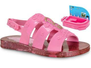 Sandália Fem Infantil Grendene 22485 20197 Barbie Spa Rosa - Tamanho Médio