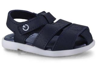 Sandália Masc Infantil Grendene 11561 20032 Cartago Mini Branco/azul - Tamanho Médio