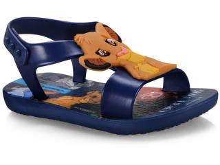 Sandália Masc Infantil Grendene 26359 22930 Ipanema Clássicos Disney Baby Azul/azul Escuro - Tamanho Médio
