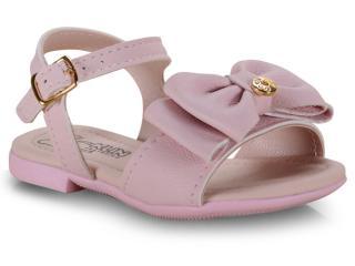 Sandália Fem Infantil Klin 177.031 Rosa Claro - Tamanho Médio